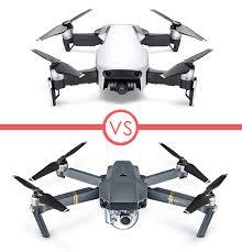 Mavic Air vs Pro