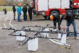 Drones and Firefighting