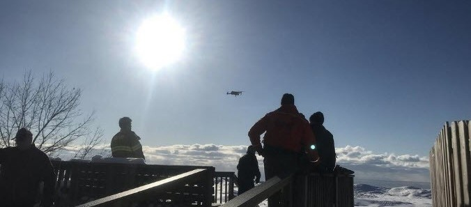 Positive Press – Drone Used to Help Locate a Girl Lost on Lake Michigan Ice