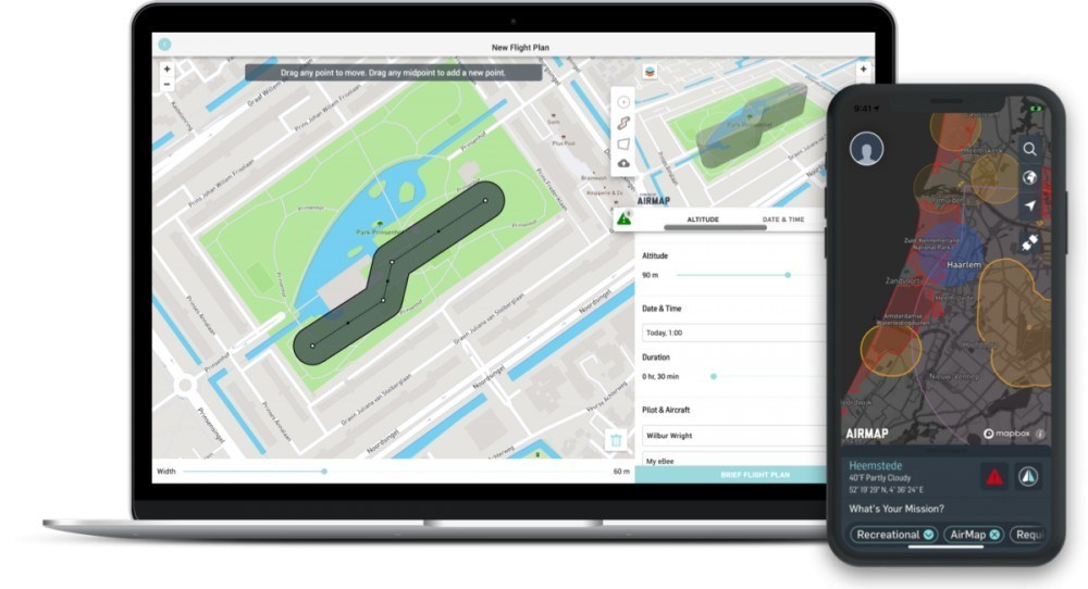 About the AirMap App - 8 Excellent Features Make it Keeper
